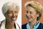 Due donne alla guida dell'Europa: von der Leyen alla Commissione Ue, Lagarde alla Bce