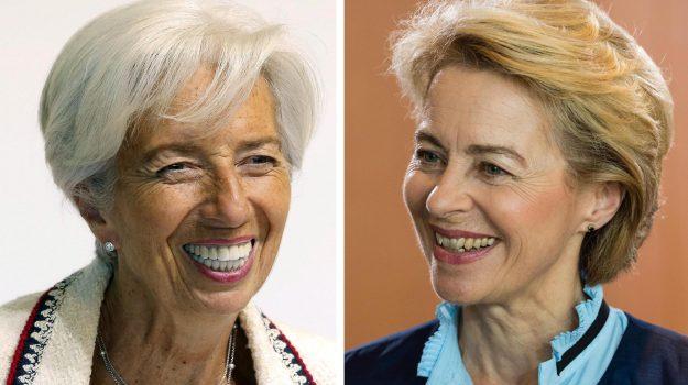 banca centrale europea, commissione ue, Christine Lagarde, Ursula von der Leyen, Sicilia, Mondo