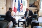 Brexit: Macron, soluzione su backstop entro 30 giorni