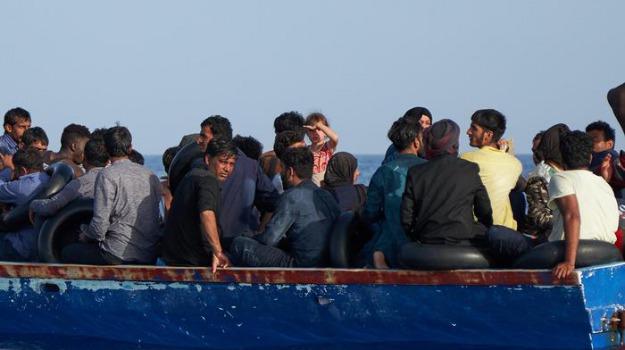 migranti, sbarco, Reggio, Calabria, Cronaca