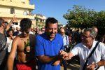 Salvini ieri a Isola Capo Rizzuto