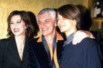 ©Scarpati/LAPRESSE15-02-2000 Roma, ItaliaSpettacoloNella foto : ALBA PARIETTI con FRANCO OPPINI ed il loro figlio Francesco .