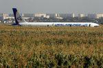 Stormo di uccelli contro un aereo russo, atterraggio d'emergenza: 23 feriti