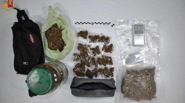 arresto messina, sostanze stupefacenti, Valentino Freni, Messina, Sicilia, Cronaca