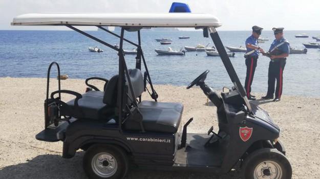 controlli carabinieri a Panarea, Messina, Sicilia, Cronaca