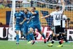 Serie A, la Juventus riparte con una vittoria: Chiellini punisce il Parma
