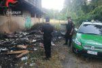 Combustione illecita di rifiuti, denunce e sequestri a Torano e Marano Principato