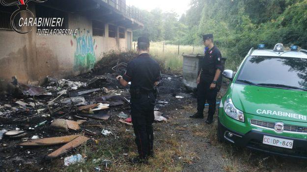 combustione di rifiuti, denuncia sindaco di Marano, discarica non autorizzata Marano, torano, Cosenza, Calabria, Cronaca