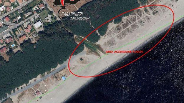 controlli litorale Catanzaro, incendi boschivi, Catanzaro, Calabria, Cronaca