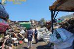 Capo d'Orlando, sequestrato deposito di rifiuti speciali e pericolosi - Video