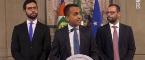"""Di Maio a Mattarella: """"La politica è servizio, il nostro obiettivo è cambiare le cose"""""""