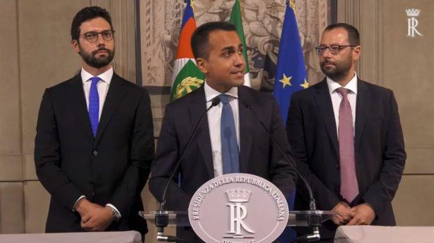 governo, movimento 5 stelle, Giuseppe Conte, Luigi Di Maio, Sergio Mattarella, Sicilia, Politica