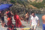 Dramma sulla spiaggia di Diamante, donna muore in acqua per un malore