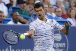 Tennis, Djokovic nei quarti a Cincinnati. A sorpresa fuori Federer