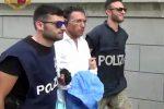 L'arrivo di Domenico Crea in questura a Reggio dopo 4 anni di latitanza - Video