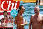 """Eros e Marica Pellegrinelli in vacanza a Taormina: """"Hanno rimesso le fedi"""""""