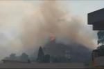 Messina, fiamme nella Panoramica dello stretto: forse un incendio doloso