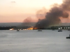 Incendio nelle Saline di Siracusa, in fumo diversi ettari di macchia mediterranea
