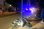 Incidente a Messina, scontro tra auto e moto a Ganzirri: muore una 14enne - Foto