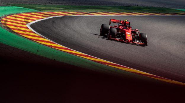 ferrari, formula 1, gran premio belgio, spa francochamps, Charles Leclerc, Sebastian Vettel, Sicilia, Sport