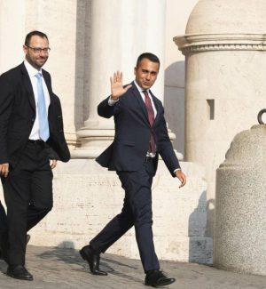 Luigi Di Maio, Stefano Patuanelli e Francesco D'Uva