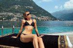 Vacanza tutta italiana per Miley Cyrus: le foto dal lago di Como