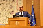 Il segretario del Pd Nicola Zingaretti alla direzione del partito