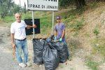"""Mileto, il patron della gara internazionale """"La Normanna"""" ripulisce la statale 18"""