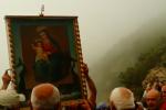 Madonna di Dinnammare, il momento dell'arrivo del quadro - Video