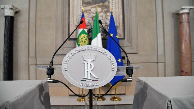 consultazioni, crisi, governo, quirinale, Sicilia, Politica