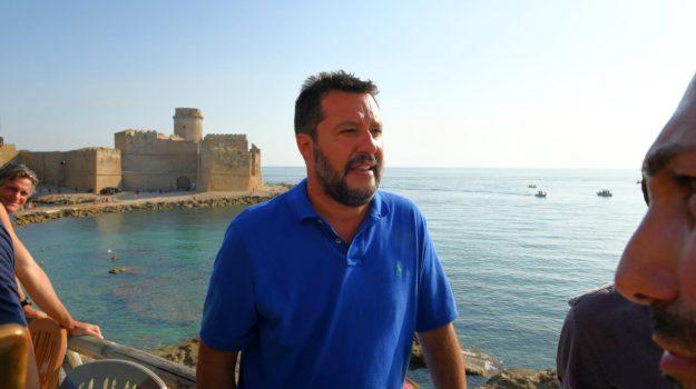 isola capo rizzuto, le castella, salvini calabria, Matteo Salvini, Catanzaro, Calabria, Politica