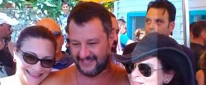 """Crisi di Governo, Salvini a Taormina: """"Mattarella ha in mano la situazione"""""""