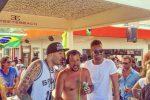 Salvini in console al Papeete beach, drink in mano e Inno di Mameli