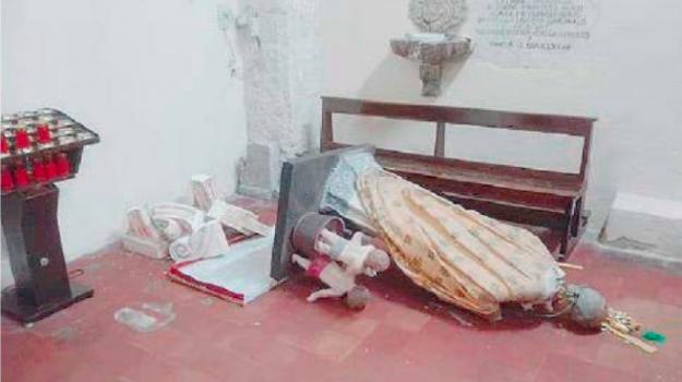 statua san nicola, Reggio, Calabria, Cronaca