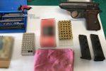 Armi e munizioni nascoste in casa, arrestato pregiudicato di San Calogero