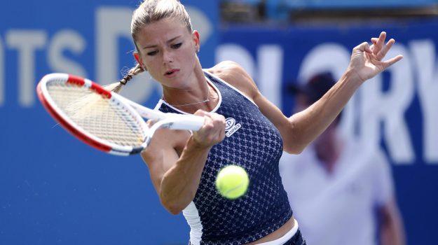 tennis, wta bronx, Camila Giorgi, Sicilia, Sport