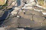 Crolla una strada a Cropani, isolate tre famiglie - Foto
