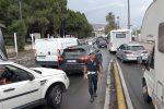 Controesodo, automobilisti in coda a Messina: due ore di attesa per imbarcarsi - Foto