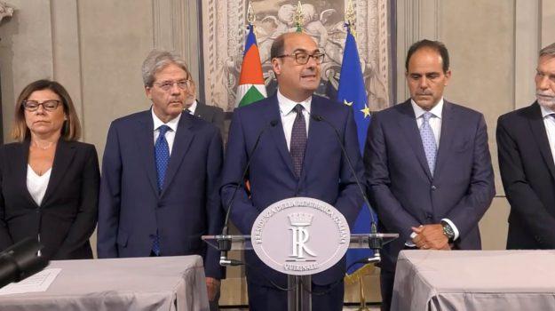 crisi di governo, Nicola Zingaretti, Sergio Mattarella, Sicilia, Politica