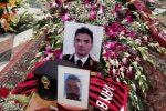 Messina dà l'addio a Salvatore, in centinaia ai funerali del poliziotto morto a Villafranca - Foto