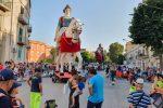 Messina in festa per la passeggiata dei giganti - Foto