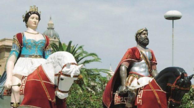 messina, passeggiata dei giganti, vara, Messina, Sicilia, Cronaca