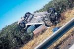 Auto si ribalta sull'A20 fra Barcellona e Milazzo, grave una donna di 23 anni
