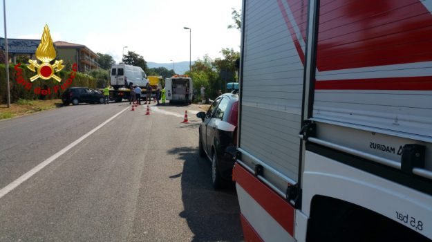 incidente rende, incidente statale 107, Cosenza, Calabria, Cronaca