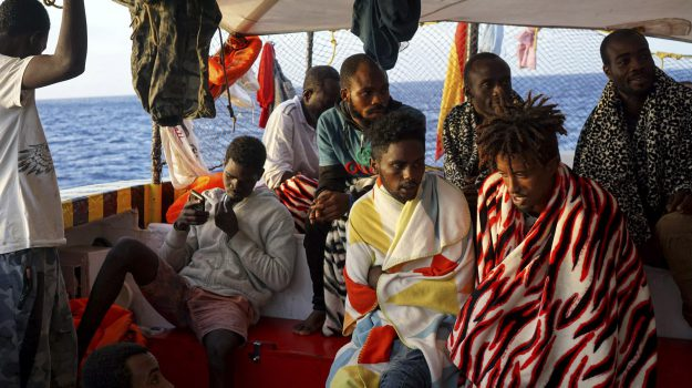 migranti, open arms, Giuseppe Conte, Matteo Salvini, Sicilia, Cronaca