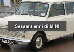 Mini compie sessant'anni: l'auto diventata una icona di stile Compie 60 anni l'auto creata nel 1959 da Alec Issigonis - Ansa