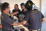 Un ferro della motozappa gli si conficca nella gamba: salvato a Messina