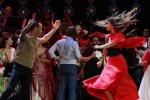 Notte della Taranta, Belen Rodriguez balla la pizzica