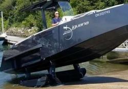 Questa barca arriva fino a riva. Ma poi guardate che succede Il video girato nella baia di Buzzards, in Massachusetts, Usa - CorriereTV