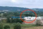 Repubblica Ceca: il treno merci deraglia a tutta velocità